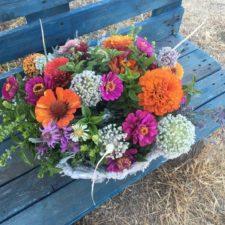 Centro de flores y aromáticas