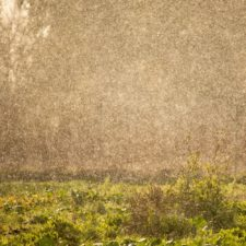 Lluvia con sol