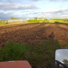 tierra preparada para la siembra